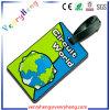 Étiquette faite sur commande de course de sac d'identification d'étiquette de bagage de PVC