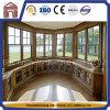 Bonne qualité et prix raisonnable dans la fenêtre de verre double en aluminium Foshan