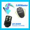 Compatible avec la porte de garage de Liftmaster 433MHz à télécommande