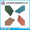 Tuile de toit enduite en métal de pierre de modèle de bardeau de résistance aux intempéries de navire