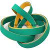 Трансмиссионные ремни высокоскоростной Nylon конструкции сандвича желтые/зеленые резиновый плоские силы