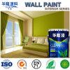 Peinture acrylique de mur d'émulsion intérieure propre facile de boue d'algues de Hualong