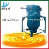 Filtre de lame d'huile végétale pour la décoloration/désencausticage