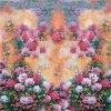 Stof van de Zijde van het Af:drukken van de Kleding van in het groot Vrouwen de Digitale (xf-0055)