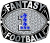 Anillos Personalizados del Campeonato de Fútbol Fantasía
