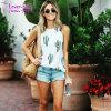 La mujer Camiseta Sin Mangas imprimir camisetas de Cactus Blusa Casual Camiseta L597