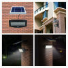 No Wiring Decoration Modern Wall Lamp LED Solar Light com PIR