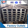 U-balk de van uitstekende kwaliteit van het Roestvrij staal (201 304 316)