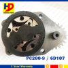 Bomba de petróleo 6D107 para a máquina escavadora PC200-8 (6754-51-1100)