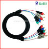 Подгонянный чернотой кабель AV (SY091)