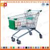 Carro euro de la carretilla de las compras del estilo del supermercado del precio bajo (Zht18)