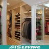 Caminata blanca de la melamina de los muebles caseros en el armario del guardarropa (AIS-W296)