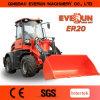Everun 상표 세륨 Rops&Fops 작은 소형 바퀴 로더 2 톤