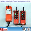 F21 de larga distancia de la serie inalámbrica Industrial Control remoto de la grúa