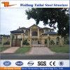 Heißer Verkaufs-vorfabriziertes Luxuxlandhaus für Stahlkonstruktion-Gebäude