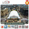Toont de Grote Tent van het aluminium voor Tijdelijke Handel, de Grote Zaal van de Tent van de Tentoonstelling voor Verkoop