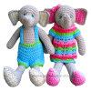 La main tricoter Crochet Amigurumi Jouet de l'éléphant