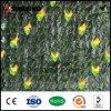 도매 장식 정원 인공적인 대나무 잔디 담 벽