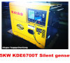 4.8kw stille Diesel Generator met Digitaal Comité