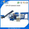 Bloc de cavité des machines Qt4-25 de Wante faisant la machine de margelle de machine