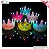 Casquillo 2016 de corona luminoso del cumpleaños del LED
