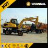 Pequeño excavador Wyl85 de la rueda de 8 toneladas