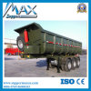 3 차축 Flatbed Container Tipper Semi Trailer (덤프 트레일러)