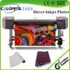 Plotter de inyección de tinta de la hoja de la ropa directa directa de la tinta continua (1604W colorido)