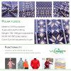 Tessuto polare del panno morbido della stampa per gli abiti sportivi