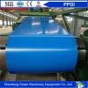 Las bobinas galvanizadas prepintadas/color de las bobinas/PPGI del acero cubrieron las bobinas de acero para hacer el material de la azotea