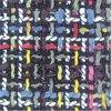 100% 실크 직물 디지털 인쇄 직물 (TLD-0066)