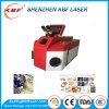 Máquina de solda laser com precisão de processamento de jóias
