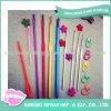 Ganchos de Crochet de alumínio Multicolour do jogo popular das agulhas de confeção de malhas