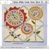 Flor Impreso Lona Memo Junta para la decoración del hogar