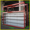 Supermercado de topo de rack para prateleira de armazenamento e exibição