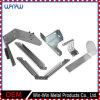 Metal de hoja que estampa el corchete de la esquina en forma de L de acero para los muebles de madera