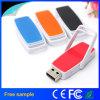 Mecanismo impulsor plástico 4GB/8GB/16GB/32GB/64GB del flash del USB del eslabón giratorio del mecanismo impulsor de la pluma del USB 2.0