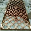 Écran pliant intérieur en acier inoxydable décoratif