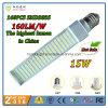 2016 lâmpada quente do diodo emissor de luz do G-24 Pl da venda 15W E27 G23 com a saída a mais elevada 160lm/W no mundo
