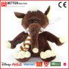 승진 선물 연약한 견면 벨벳 장난감 박제 동물 코끼리