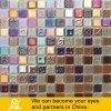 Mosaico di cristallo di vetro di tatto dell'oceano con il trattamento lucido (mare B01)