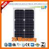 25W 156*156моно-кристаллических солнечная панель