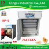 Retenant l'incubateur complètement automatique d'oeufs de 264 oeufs (KP-5)