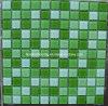 Mosaico de la piscina del mosaico del vidrio cristalino (TCW004)