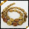 자연적인 Gemstone, Plating, Oval Gemstone Beads (YAD026)를 가진 Gemstone Fashion Bead