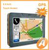 Navigateur de l'écran tactile de 4.3 pouces GPS