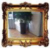 Rond/Vierkant Aluminium/Zilveren Spiegel voor de Decoratie van het Huis