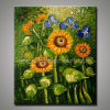 Декоративное Modern Sunflower Painting на Canvas (KLSF-0006)