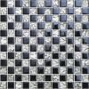 Гальванизированная белая и черная стеклянная мозаика для живущий плитки комнаты