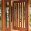 Qualitäts-festes Holz-doppelte Innentüren für Haus